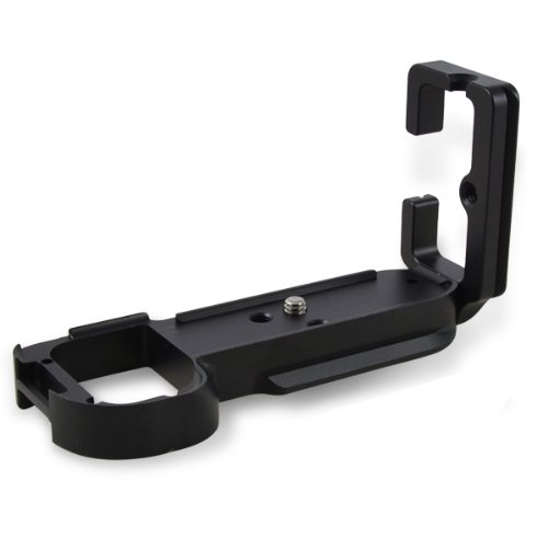 MENGS/® A7//A7R C/ámara s/ólida aluminio Plato de liberaci/ón r/ápida en forma de L para Sony A7//A7R C/ámara