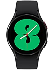 Samsung Galaxy Watch 4 40mm Smartwatch with ECG Monitor Tracker for Health Fitness Running Sleep Cycles GPS Fall Detection LTE US Version, Black