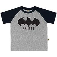 Camiseta Manga Raglan Batman, Fakini, Meninos