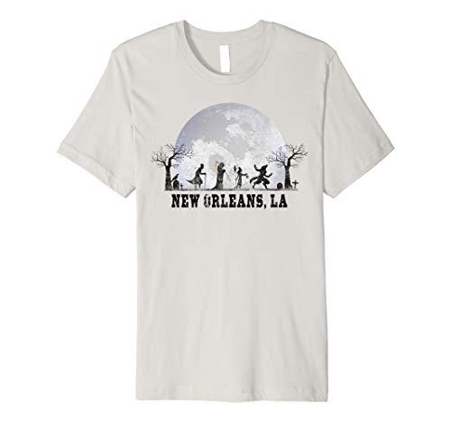Halloween In New Orleans 2019 (Vintage Halloween Full Moon in New Orleans LA Retro Premium)