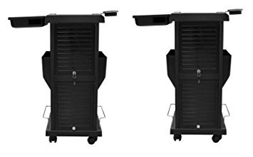 2 Salon Lockable Trolleys Carts for Tattoo, Spa, Skincare, Dayspa or Barber Shop by BERKELEY