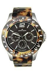 AK Anne Klein Multifunction Tortoise Plastic Brown Dial Women's watch #10/9711BNTO