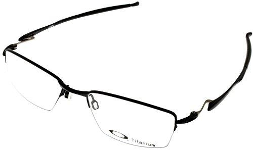 Oakley Wingfold 0.5 OX5101-0153 Satin Black Semi-Rimless Eyeglasses - Oakley Rimless Frames Titanium