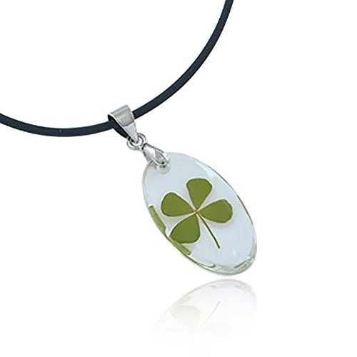 real-irish-four-leaf-clover-symbol-of-good-luck-clear-oval-pendant-necklace