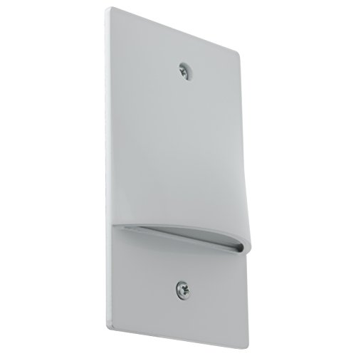 Cheap Sunlite LFX/SL/V/3W/W/30K LED Step Light Vertical Wall Mounted Fixture Damp Location, Warm White 3000K White Finish