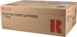 Ricoh FAX5000L Fax Toner 10000 Yield Type 5110 - Genuine Orginal OEM toner (Type Fax Toner Ricoh 5110)
