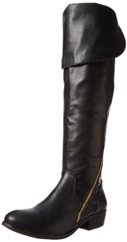 Report Signature Women's Gwyn Knee-High Boot,Black,6.5 M US (Report Womens Slip)