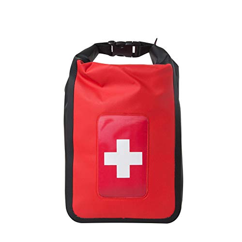 Delta Provision Waterproof First Aid Kit - Boating & Marine - Fully Stocked in a Heavy Duty Watertight Bag - Perfect for Boat, Truck, Kayak, Four Wheeler, Canoe, Camping, Fishing