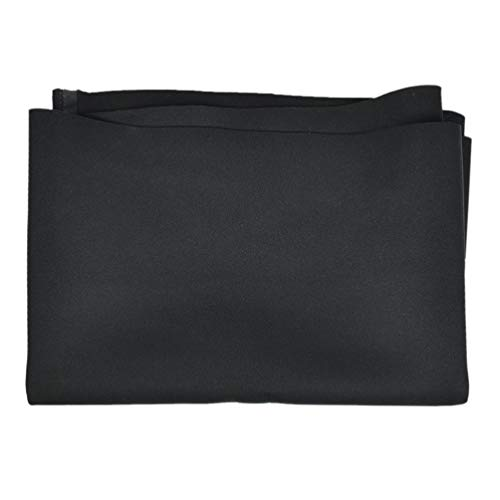 (lychee 2.5mm Black Neoprene Fabric Waterproof Wetsuit Fabric Stretch)