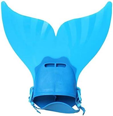 Watersport Schattig zwembad vinnen voet vinnen zwemmen vinnen zeemeermin staart duiken flippers watersport training dompelbare snorkelen voor kinderen voor Jongens Meisjes Mannen Vrouwen