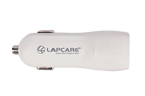 Lapcare Dual USB Car Mobile Charger
