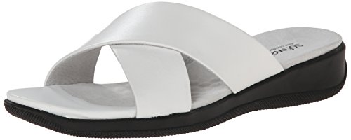 Delle Donne Bianco Vestito Softwalk Sandalo Tillman 5zq7wn0xY