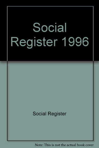 Social Register 1996 (The Social Register compare prices)