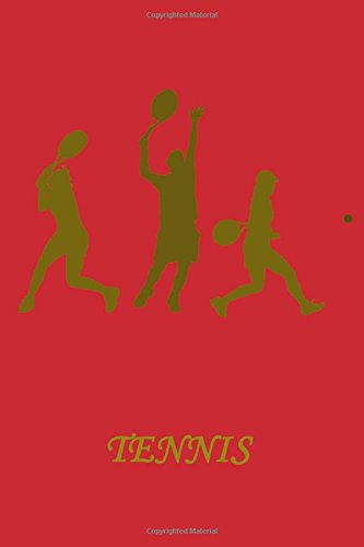 Download Tennis: Lined Notebook, 6 x 9 inches, Cream paper, 100 pages(50 sheets), Soft Cover. pdf