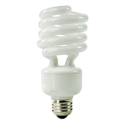 TCP 28927-65 - 27 Watt CFL Light Bulb - Compact Fluorescent - 100 W Equal - 6500K Full Spectrum Daylight - 82 CRI - 69 Lumens per Watt - 18 - Full Spectrum Compact