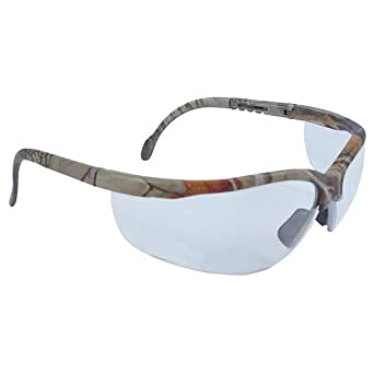 realtree hw series journey clear lens camo frame shooting safety glasses