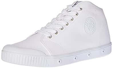 Spring Court Women's B2S-1001 Canvas Trainers,  White, EU 36