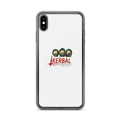 iPhone Xs Max Case Clear Anti-Scratch Shock Absorption ksp, Kerbal Space Program Art Cover Phone Cases for iPhone Xs Max