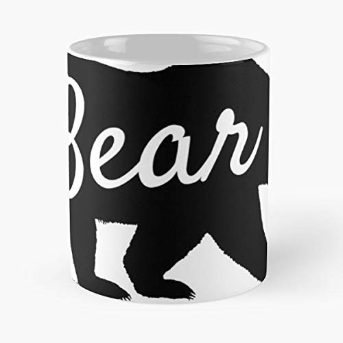(Mama Bear Papa Baby Halloween Gift For Mom - Best Gift Ceramic Coffee)