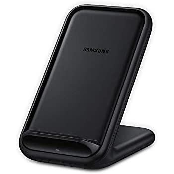 Samsung 15W Fast Charge 2.0 Wireless Charger Stand - Black (US Version with Warranty)