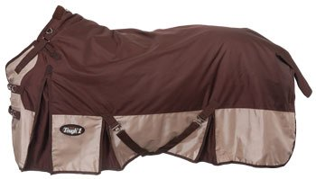 - Tough-1 Snuggit 1680D Turnout Blanket 75 Brown