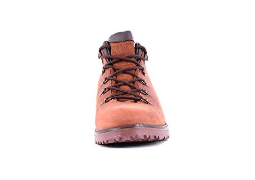 Leather Genuine uomo Park camminata Marrone Impermeabile escursionismo ed chiaro Scarponcini da TREK UA7zZTn