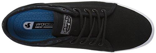 DVS Women's Aversa WOS Skate Shoe Black/White Canvas buy cheap low shipping fee zkda0