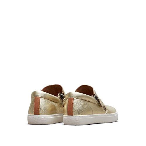 ... Milde Sjeler Av Kenneth Cole Lowe Skinn Sneaker - Womens Myk Gull