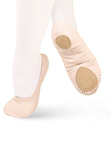 Body Wrappers Womens BALLET SLIPPER WENDY (246A) -PEACH -