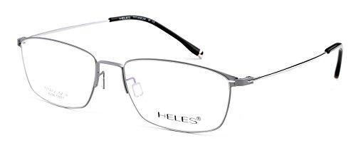7f81b4f4f5c63 Heles Women New 100% Pure Tianium Full Rim Glasses Optical Frame