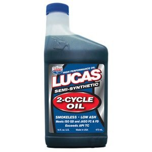 Lucas Oil 10120 2-Cycle Oil – 16 oz.