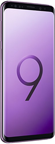 Samsung Galaxy S9 (Dual-SIM) 64GB SM-G960F Factory Unlocked 4G Smartphone (Lilac Purple) - International Version
