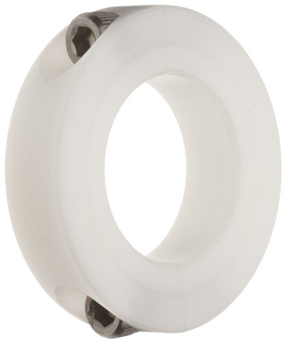 Ruland SP-8-P Two-Piece Clamping Shaft Collar, Plastic.500 Bore, 1 1/8 OD, 13/32 Width (Pack of 2) Plastic Shaft