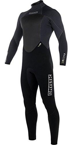 Mystic STAR 3/2 GBS Back Zip Wetsuit 2018 - Black - Wetsuit Comparison