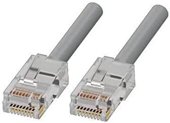 CAT5e Ethernet 3 ft Patch Cord by Adam Tech Grey