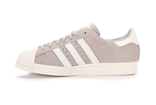 adidas Superstar 80 S Damen Sneaker Grau Weiß-Grau-Blau