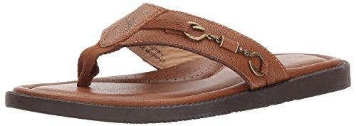 (Tommy Bahama Men's Belize Vintage Sandal, tan, 7 D US)