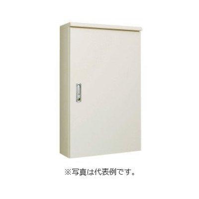 河村電器産業 屋外用鉄板製 盤用キャビネット PO8345-12 ベージュ B01FVNZ35M ベージュ
