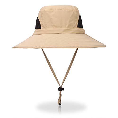 Safari Tie - Jane Shine Outdoor Sun Hat Quick-Dry Breathable Mesh Hat Camping Cap