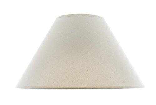 Amazon.com: Marfil Lino Hardback lámpara de techo 6 x 16 x ...