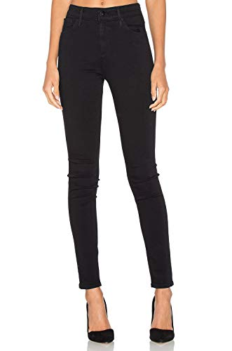 H HIAMIGOS Womens Denim Skinny Jeans Stretch Pencil Trousers Slim Long Pants (27,Black)