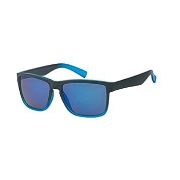 Sonnenbrille Herren Nerd kantig 400 UV Wayfarer zweifarbig Pantosteg orange irhxiZSdz6