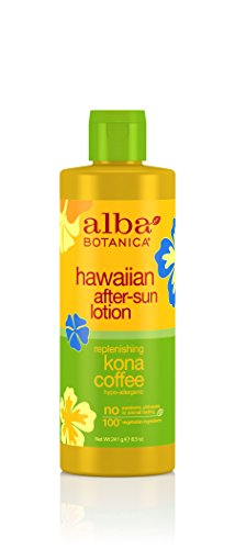 Alba Hawaiian After Sun Lotion Kona Coffee (Alba Botanica Hawaiian, Kona Coffee After-Sun Lotion, 8.5 Ounce)