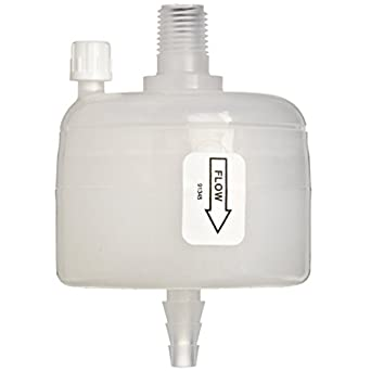 Whatman 6717-7504 Polycap TC 75 Polyethersulfone Membrane Capsule Filter with 1/2\' SB Inlet and Outlet, 60 psi Maximum Pressure, 0.6/0.45 Micron FM126-3E
