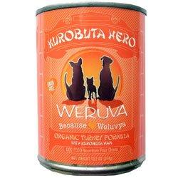 Weruva Kurobuta Hero Organic Turkey Formula Canned Dog Food (pack of 12)