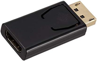 Peanutaor Convertisseur Adaptateur de Port daffichage pour Homme//Femme HDMI Convertisseur Adaptateur DisplayPort DP vers HDMI 1080P pour PC HDTV