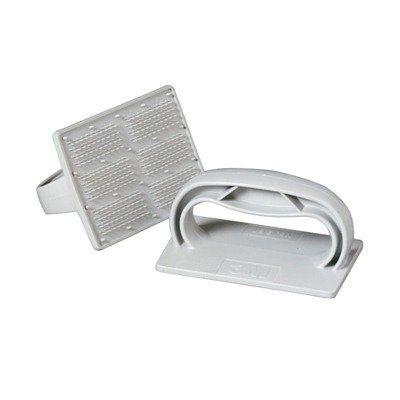 Twist-Lok Pad Holder in Gray