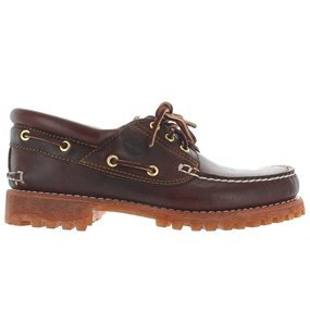 Timberland Men's Classic 3 Eye Lug Boat Shoe,Brown,10 M US