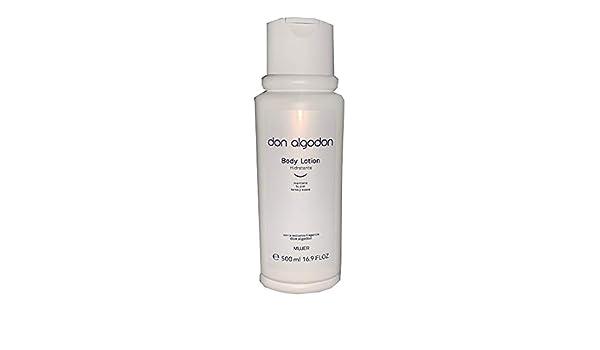 Don Algodon Body Lotion Hidratante Mujer 500 ml: Amazon.es: Belleza