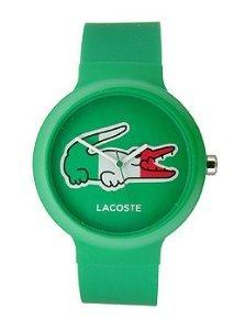 Lacoste Goa Italy Green/White Silicone Unisex watch #2020074